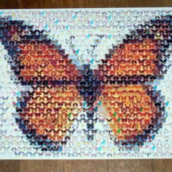 Amazing Beautiful Monarch Butterfly Montage Limited ed