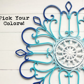 Custom Wall Decor / Wall Decor / Home Decor / Custom Design / Outdoor Decor / Housewarming / Gift Idea / Wall Art / Bohemian / Ornate / Chic
