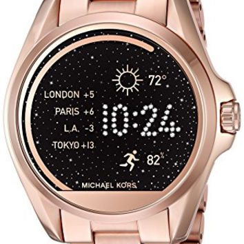 Michael Kors Access Touch Screen Rose Gold Bradshaw Smartwatch