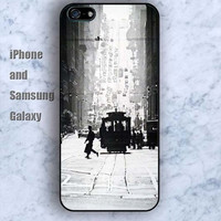 Retro track bus iPhone 5/5S case Ipod Silicone plastic Phone cover Waterproof