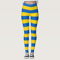 Leggings with flag of Ukraine