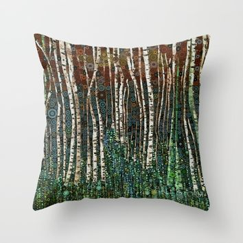 :: Wild in the Woods :: Throw Pillow by :: GaleStorm Artworks ::
