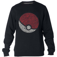 District pokemon Sweatshirt Sweater Crewneck Men or Women Unisex Size