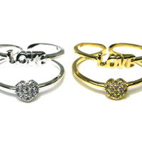 Double Love Ring