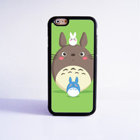 My neighbor totoro Rubber Case Cover for Apple iPhone 4 4s 5 SE 5s 5c 6 6s Plus