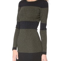 Torn by Ronny Kobo Mammie Long Sleeve Dress | SHOPBOP | Use Code: INTHEFAMILY25 for 25% Off