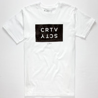 Lira Pokey Palm Mens T-Shirt White  In Sizes