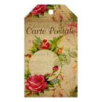 French Postcard Gift Tag
