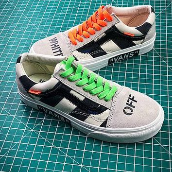Off White X Vans Vault Og Style 36 Style 1 Low Canvas Shoes - Best Online Sale