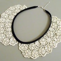 Lace Peter Pan Collar Necklace