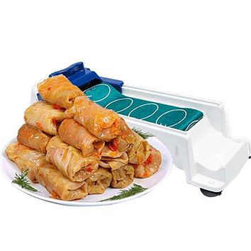 1PC Plastic Meat Vegetable Roll Mold Stuffed Cabbage Leaf Rolling Tool Sushi Machine Dolmer Sushi Maker Kitchen Tool