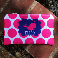 Monogrammed Catch All Bag