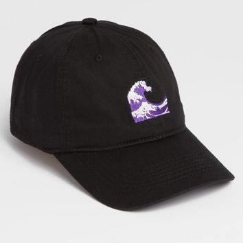 Purple Waves Dad Hat