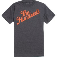 The Hundreds Forever Slant T-Shirt - Mens Tee - Black