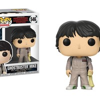 Ghostbuster Mike Funko Pop! Television Stranger Things