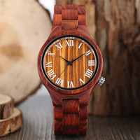Luxury Wood Watches Men Watch Vintage Roman Number Clock Men Women Casual Quartz Wooden Wrist Watch Relogio Feminino Masculino