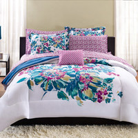 Walmart: Mainstays Floral Bed in a Bag Bedding Set