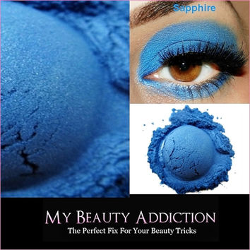 Clearance-Mineral Eyeshadow 'Sapphire'