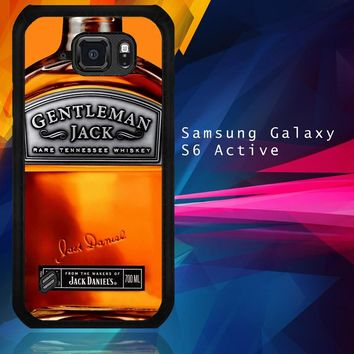 Gentleman Jack Daniels Rare Tennessee Whiskey L2167 Samsung Galaxy S6 Active  Case