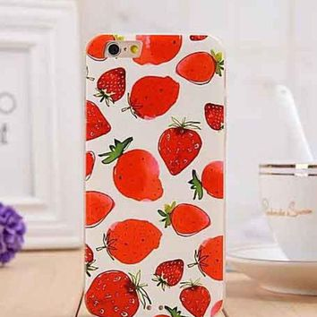 ONETOW Day-First? Strawberry iPhone 6 Phone Case