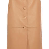 Topshop Unique - Romilly leather skirt