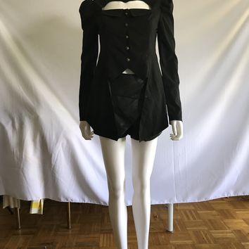 Victorian Inspired High Neck Jackets