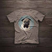Pug t-shirt, dog tshirt Pug tshirt dog lover pet t-shirt gift funny t-shirt pet portrait dog t-shirts dog portrait tee shirts christmas gift