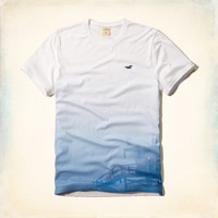 Faded Pier Graphic Tee