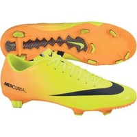 Nike Men's Mercurial Veloce FG Soccer Cleat - Yellow/Orange | DICK'S Sporting Goods