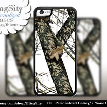 White Camo iPhone 5C 6 6 Plus Case Snow Camo iPhone 5s 4 case Ipod Real Tree Personalized Country Inspired Girl Monogram