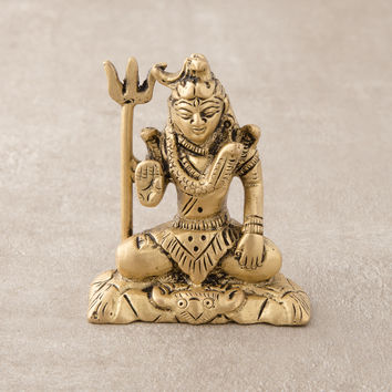 Meditating Shiva Mini Statue