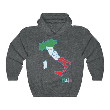 Italy Hoodie   Italian Country Hooded Sweater