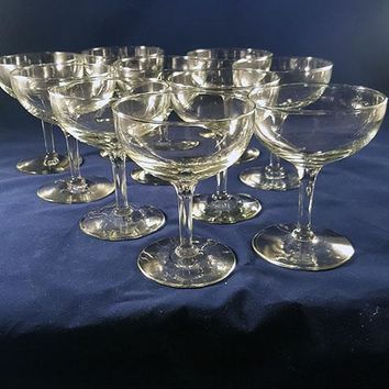 Traditional Toasting Coupes