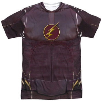 Flash TV Show Costume Sublimation Mens T-Shirt