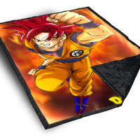 iOffer: Dragon Ball Z on Blanket for sale