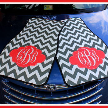 Monogrammed Gift Personalized Car Mats, Monogrammed Car Mats, Custom Car Mats, Monogrammed Car Accessory, Front Car Mats