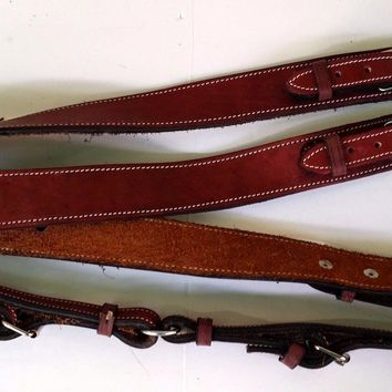 MEXICAN CHARRO SADDLE BREAST COLLAR HORSE PECHOPETRAL O PECHERA Para Caballo!!!