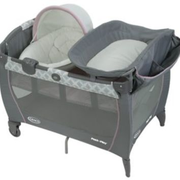 Pack 'n Play® Newborn Napper® LX Playard with Soothe Surround ™ Technology   gracobaby.com