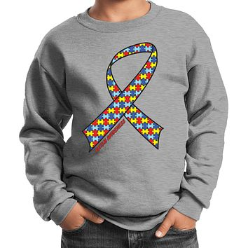 Kids Autism Ribbon Sweatshirt