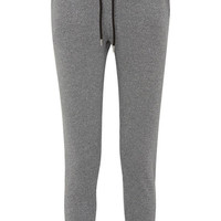 Markus Lupfer - Lara appliquéd metallic cotton and Lurex-blend track pants