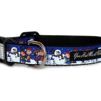 A Charlie Brown Christmas Dog Collar