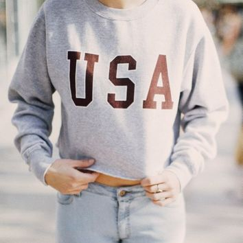 NANCY USA SWEATSHIRT