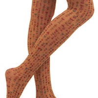 Heart You Oodles Tights | Mod Retro Vintage Tights | ModCloth.com