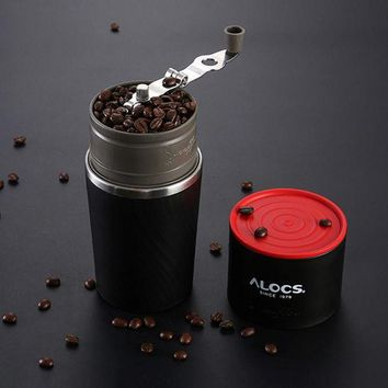 MDIGLD1 Outdoor grinding hand coffee maker pot portable mini coffee machine stainless steel coffee cup 55