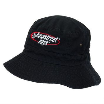 LMFON Backstreet Boys - Oval Logo - Bucket Hat