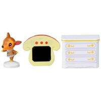 Animal Crossing New Leaf Character Stamp Figure Set - Fauna