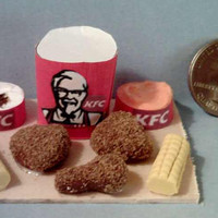 Four Barbie Fast Food Board Sets Set 4