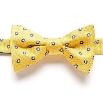ONETOW Bow Tie Tuesday Patterned Pretied Bow Tie - Men, Size: One