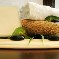 Cashmere & Silk natural soy melts.