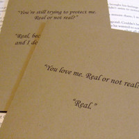 Peeta Katniss Quotes Hunger Games Note Cards by prettypetalspaper